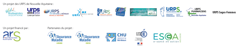 Logos partenaires isidort