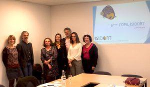 6ème Comité de pilotage ISIDORT au sein des locaux de l'URPS des masseurs-kinésithérapeutes de la Nouvelle-Aquitaine